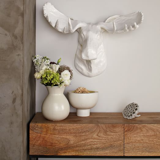 Papier_Mache Animal Sculpture_Moose